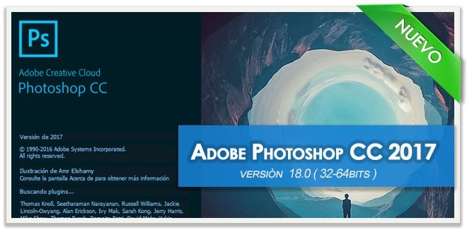 Photoshop cc 2017 multilenguaje x64 bits español