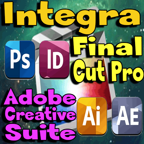 CURSO APRENDE A INTEGRAR FINAL CUT PRO CON ADOBE CREATIVE SUITE
