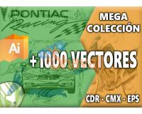 1000 Vectores Design Tuning para Adobe Illustrator y Corel Draw
