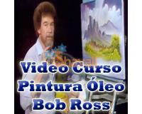 VIDEO CURSO INTENSIVO BOB ROSS PINTURA OLEO MULTI IDIOMA