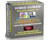 VIDEO CURSO PINNACLE STUDIO 15 HD FULL ESPAÑOL ENVIO GRATIS