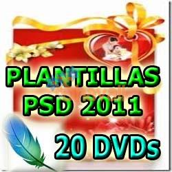 PLANTILLAS PSD PHOTOSHOP TEMPLATES 20 DVDs 100% FOTOMONTAJES E6