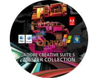 ADOBE CREATIVE CS5 MASTER COLLECTION PHOTOSHOP FLASH PC + VIDEOS