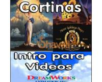 SUPER PACK 39 INTROS CORTINAS DE CINE PARA DVD