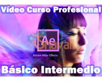 Vídeo Curso de After Effects Básico y Medio Profesional