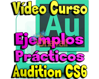 CURSO ADOBE AUDITION EJEMPLO PRACTICO CS6 EDICION AUDIO TUTORIAL