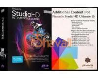 COLECCION EFECTOS COMPLEMENTOS PINNACLE STUDIO 12/14/15HD 24GB