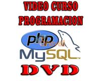 VIDEO TUTORIAL PHP MySQL DVD ESPAÑOL PHP5 BASES DE DATOS