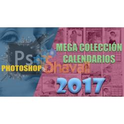 Calendarios PSD 2017 Editables con Adobe Photoshop